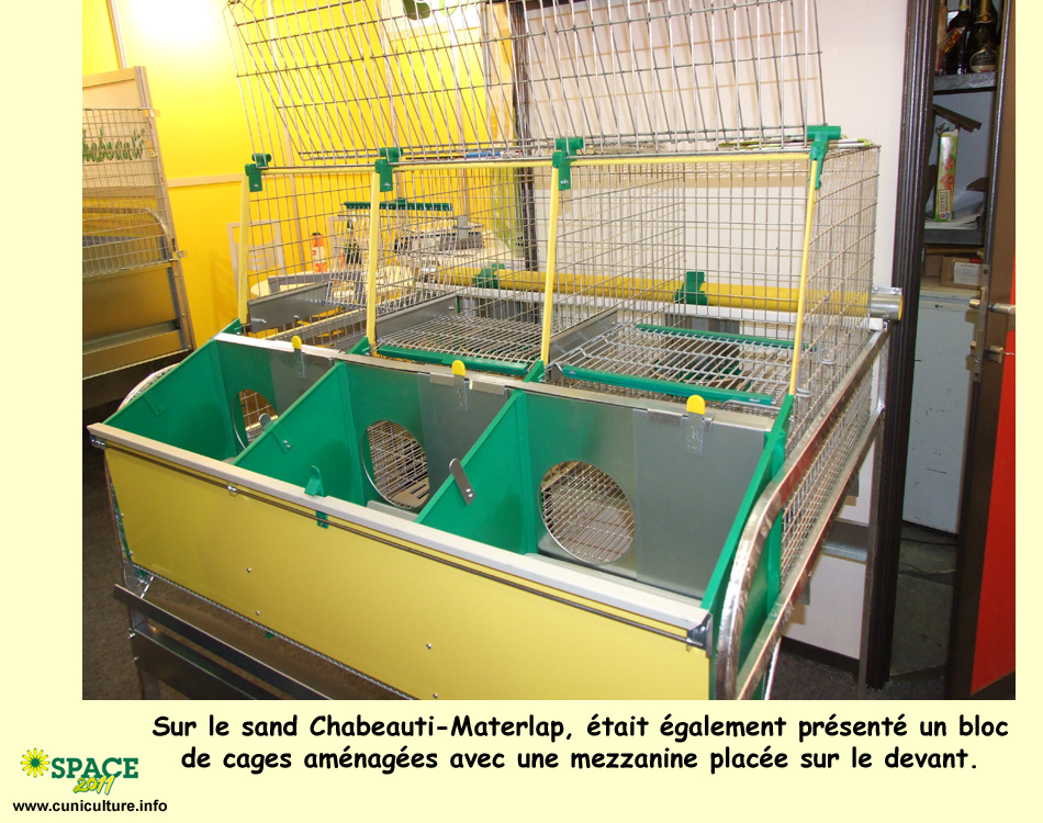 Cage a lapin unimat