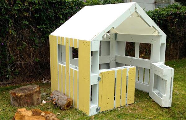 Plan cabane en palette facile