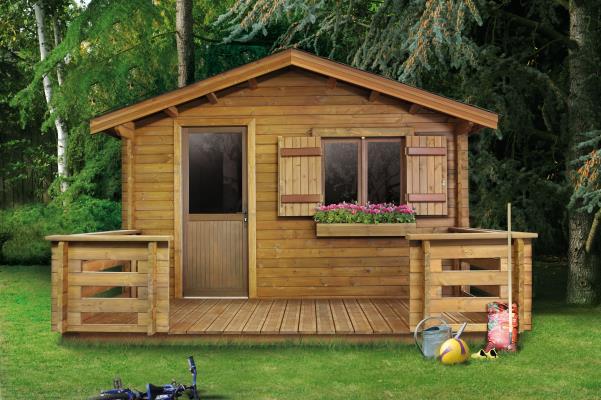 Cabane de jardin vitrée - Mailleraye.fr jardin