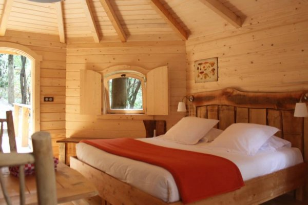 Cabane en bois villalier