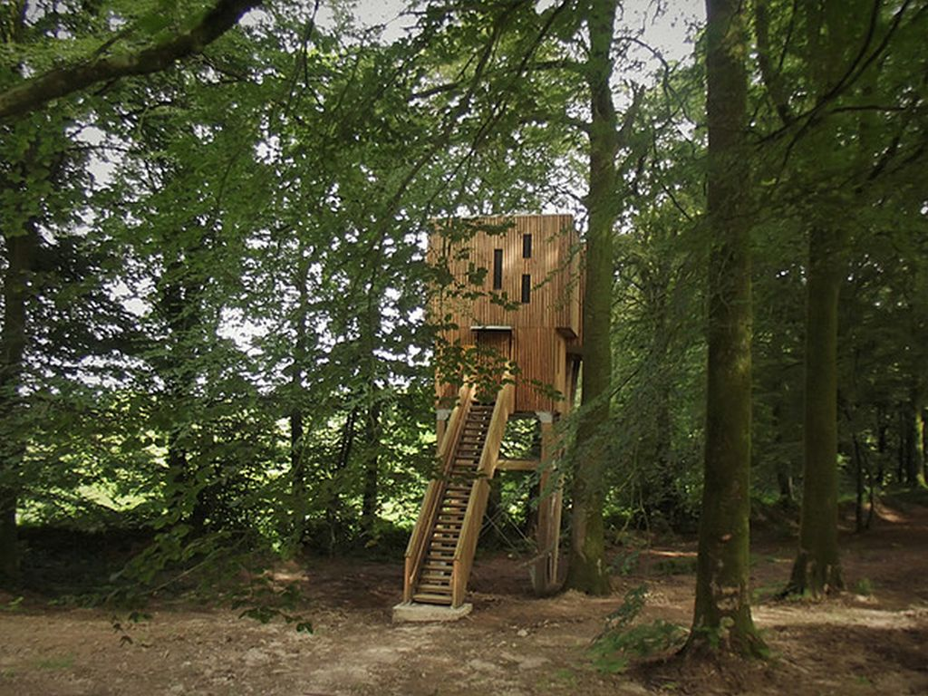 Cabane dans les arbres calvados