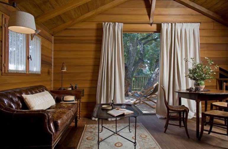 Cabane de luxe sud de la france