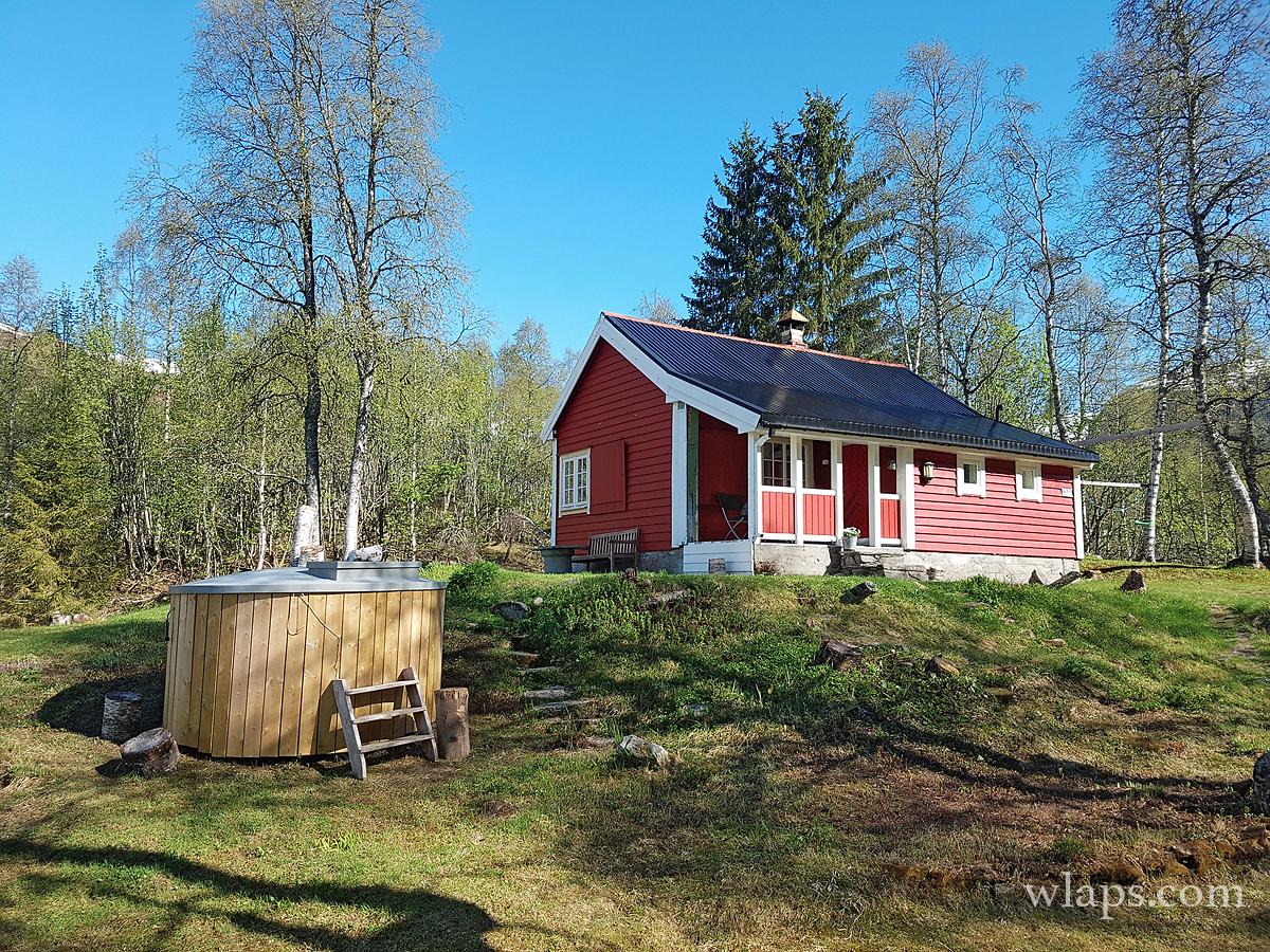 Cabane sur l'eau airbnb