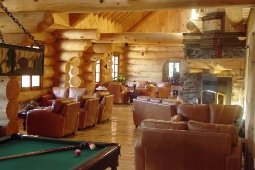 Cabane en bois rond outaouais