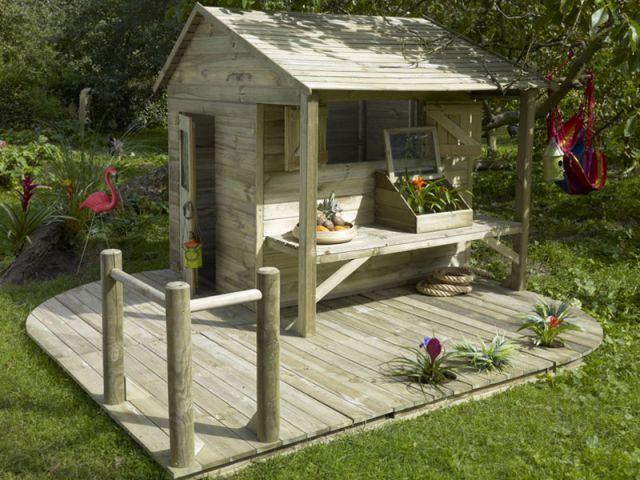 Cabane de jardin fait maison - Mailleraye.fr jardin
