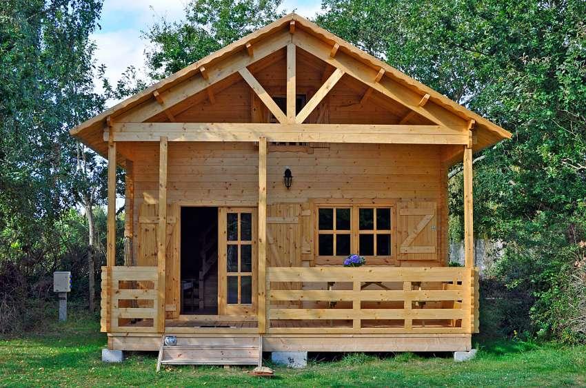 kit construction cabane en bois jardin