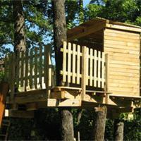 Cabane arbre fabrication