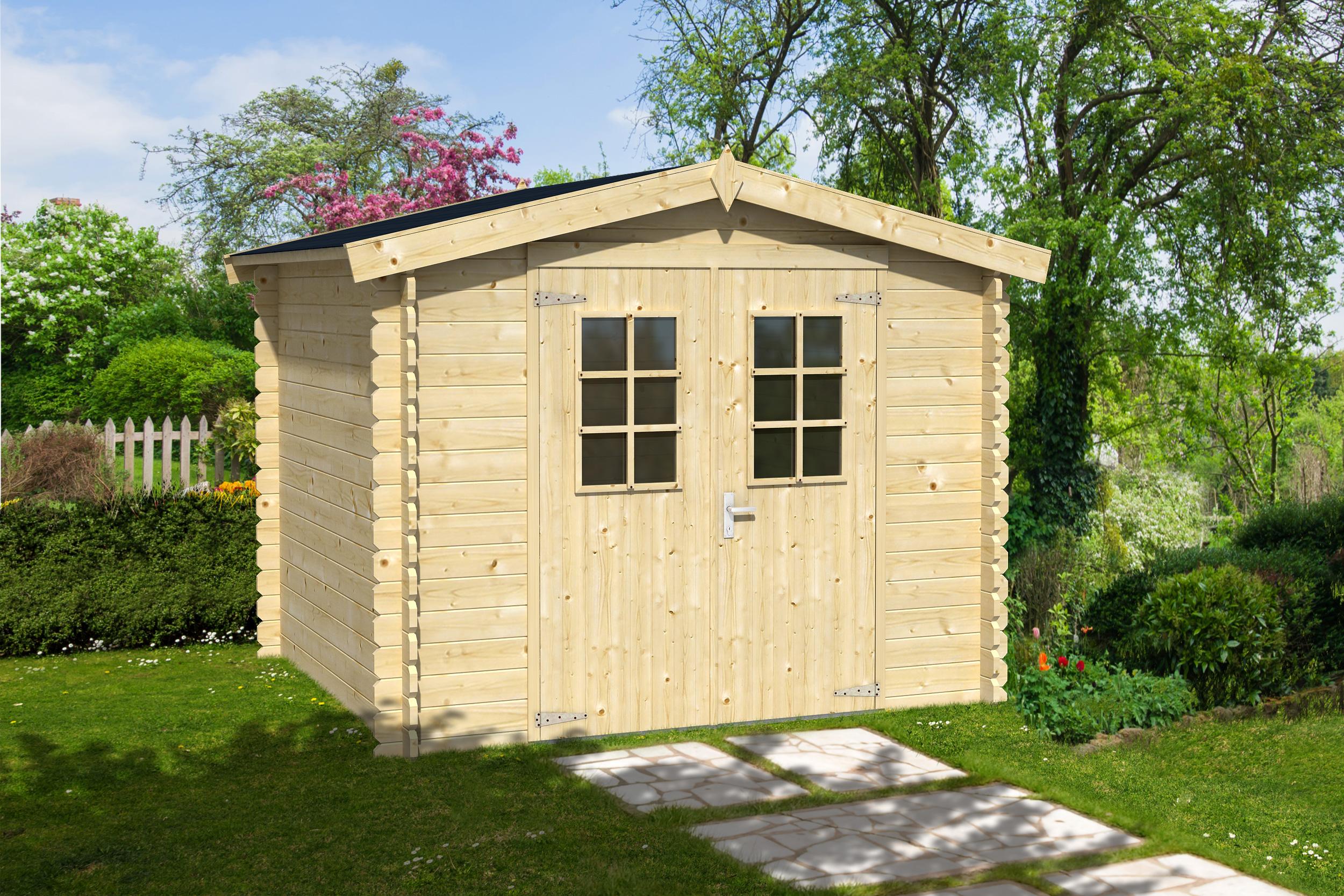 Cabane de jardin en bois bricorama - Mailleraye.fr jardin