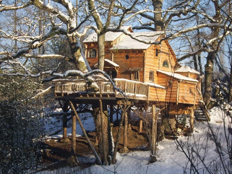 Cabane dans les arbres clermont ferrand