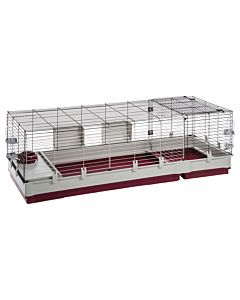 Cage a lapin roulante
