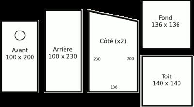 Cabane à oiseaux plan - Mailleraye.fr jardin