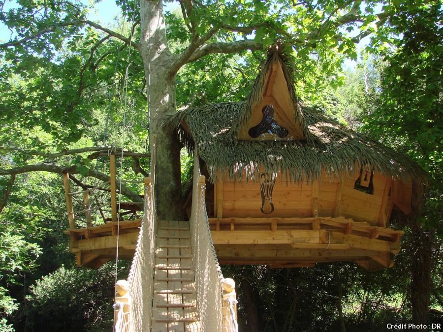 Cabane dans les arbres marseille
