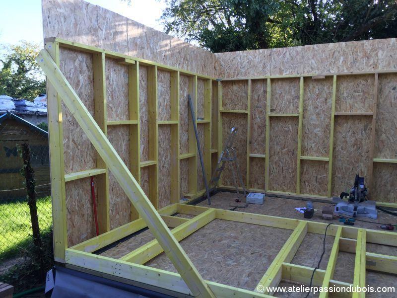 cabane osb jardin. Black Bedroom Furniture Sets. Home Design Ideas