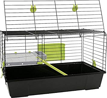 Cage a lapin pliable