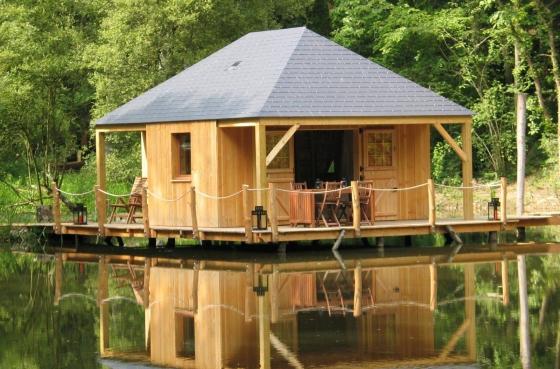 Cabane sur l'eau nantes