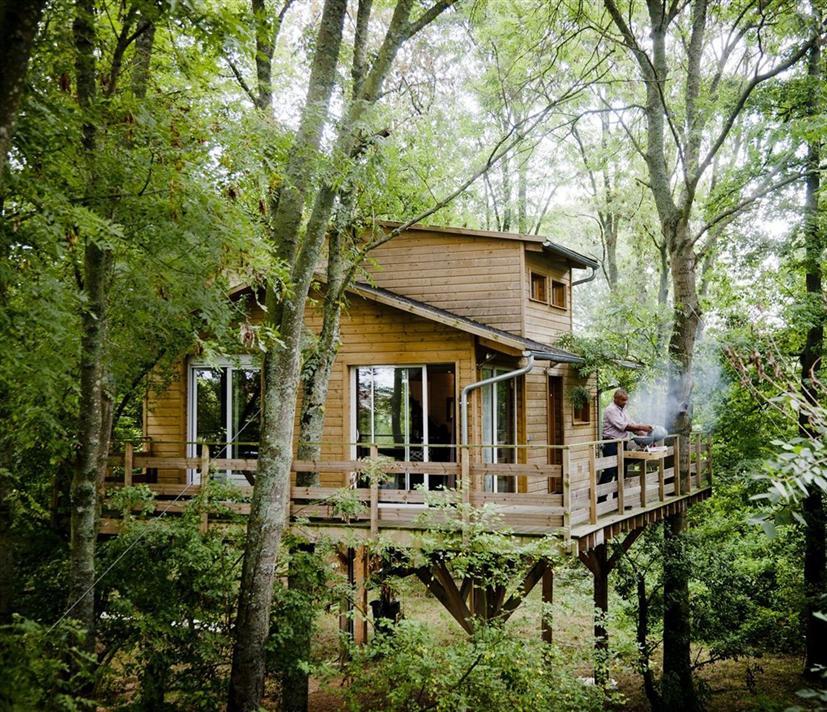 Cabane dans les bois ile de france