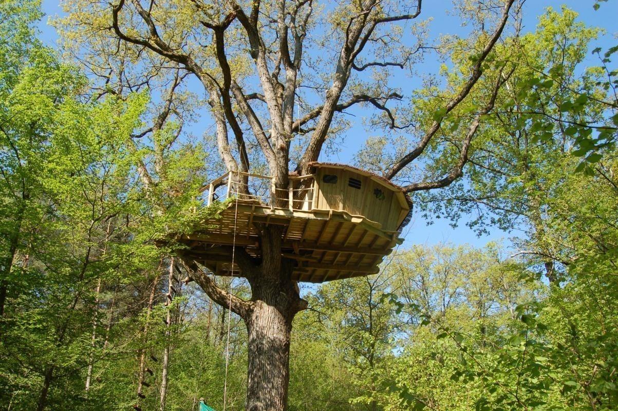 Dormir cabane dans les arbres ile de france