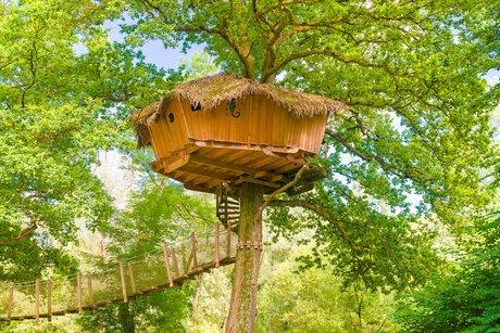 Cabane dans les bois haute saone