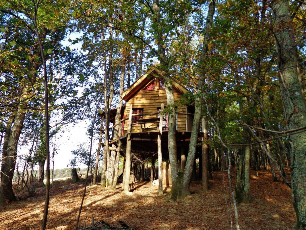 Cabane dans les bois midi pyrenees