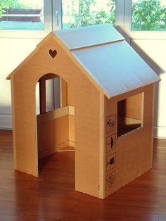Cabane carton smallable