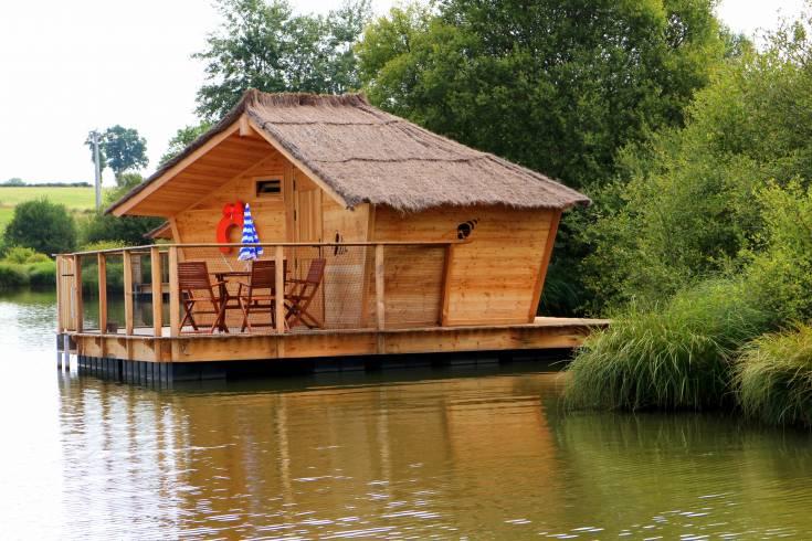 Cabane sur l'eau bali