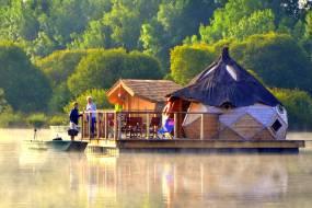 Cabane sur l'eau charente maritime
