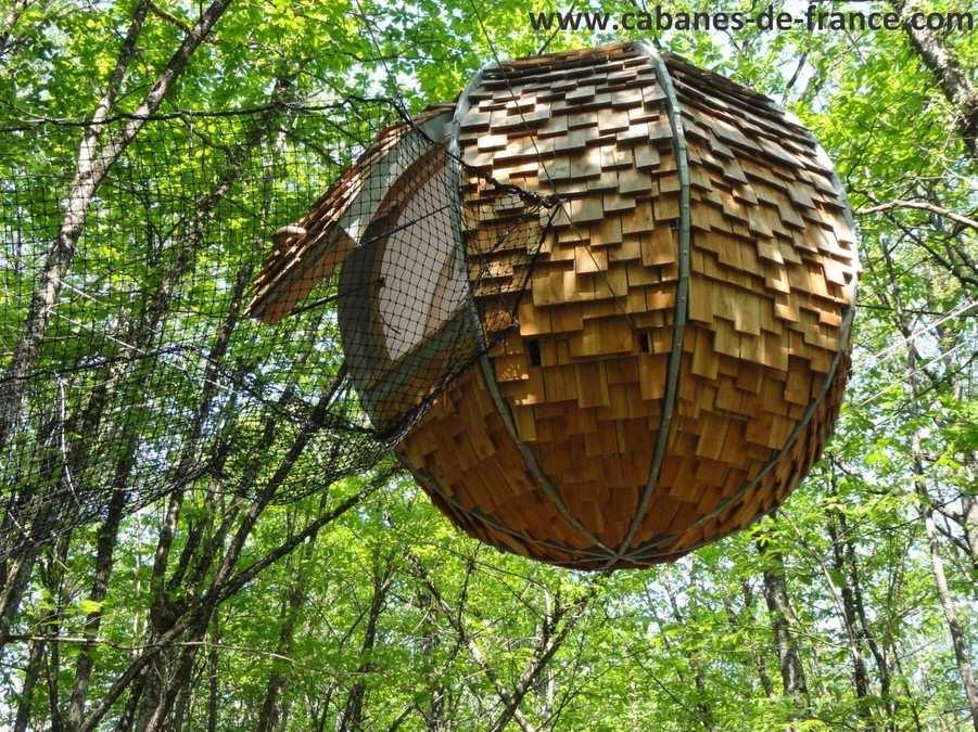 Cabane arbre perigueux