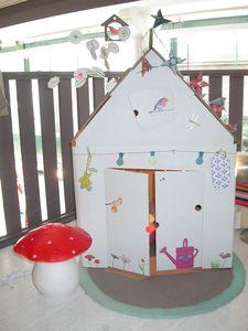 Cabane en carton kidsonroof