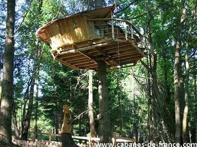 Cabane dans les arbres wonderbox