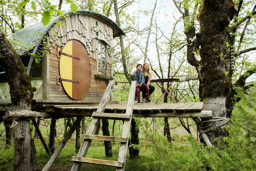 Nuit cabane dans les arbres wonderbox