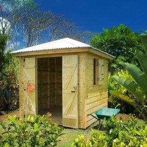 Cabane de jardin guadeloupe