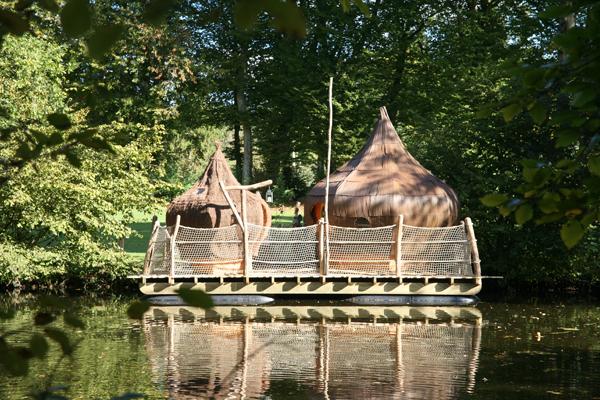 Week end cabane sur l'eau bretagne
