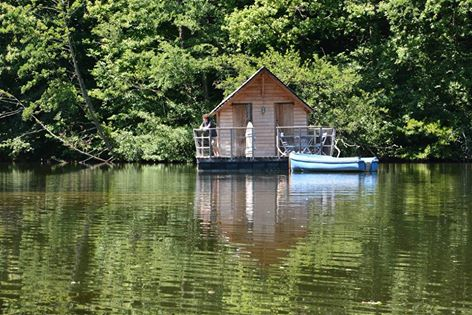 Cabane sur l'eau achat