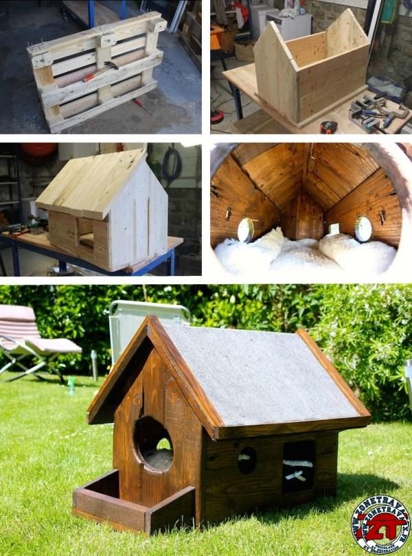 Construire une cabane a chat