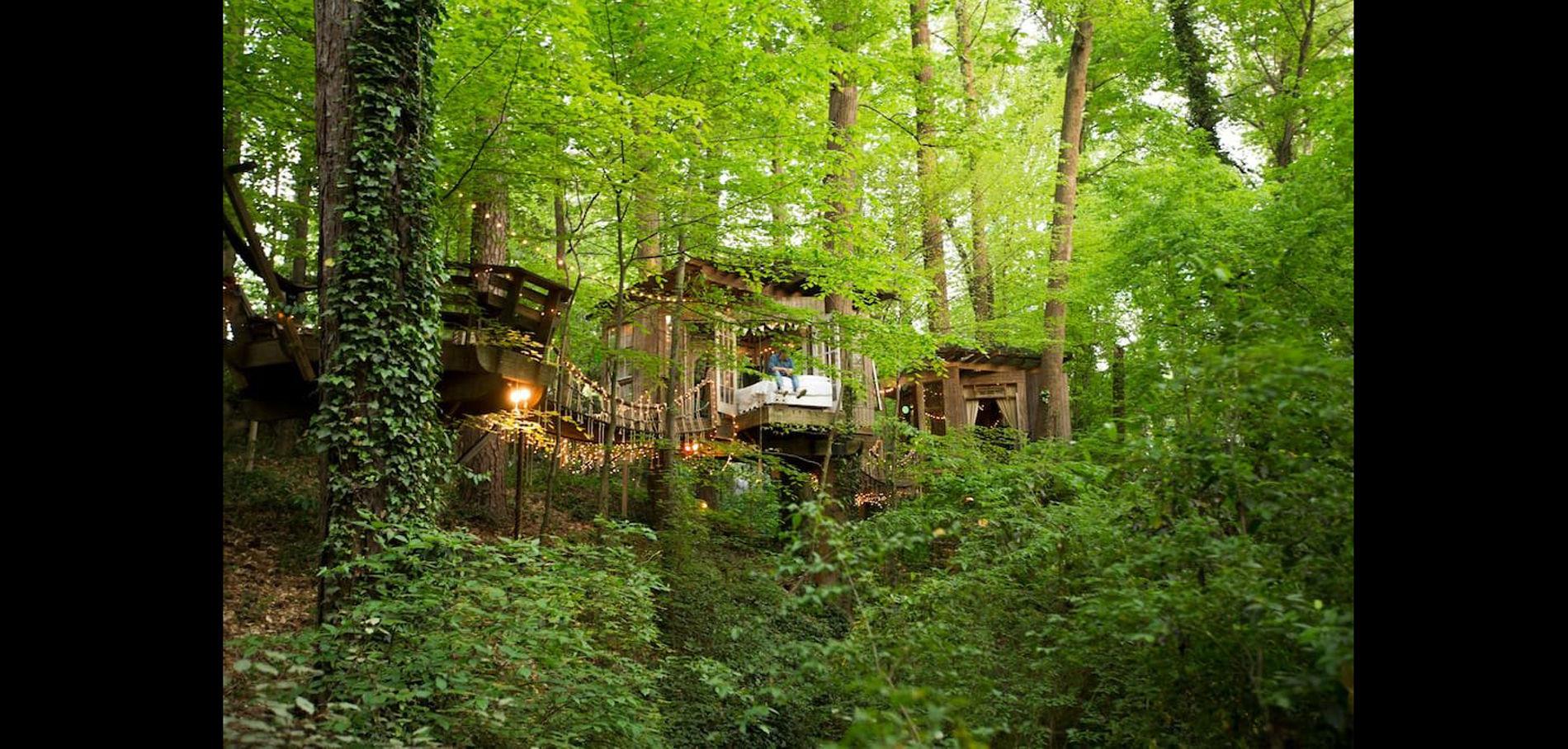 Cabane dans les bois airbnb