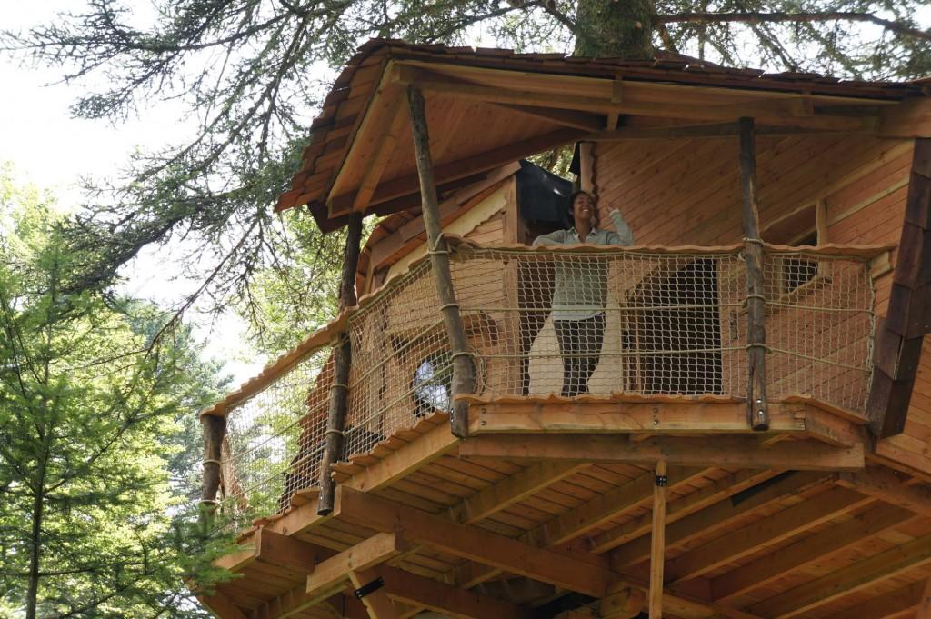 Cabane perchée puy de dome