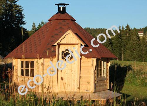 Cabane en bois finlandaise