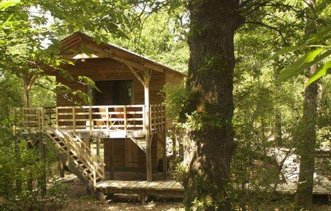 Cabane bois nordique