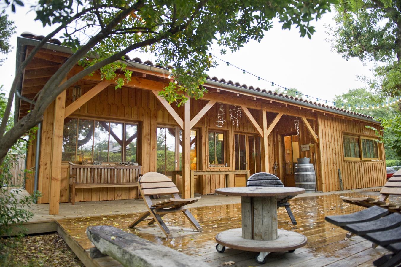 Cabane dans les bois arcachon