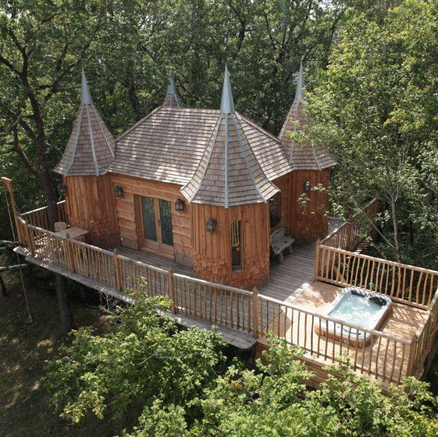 Cabane en bois belgique