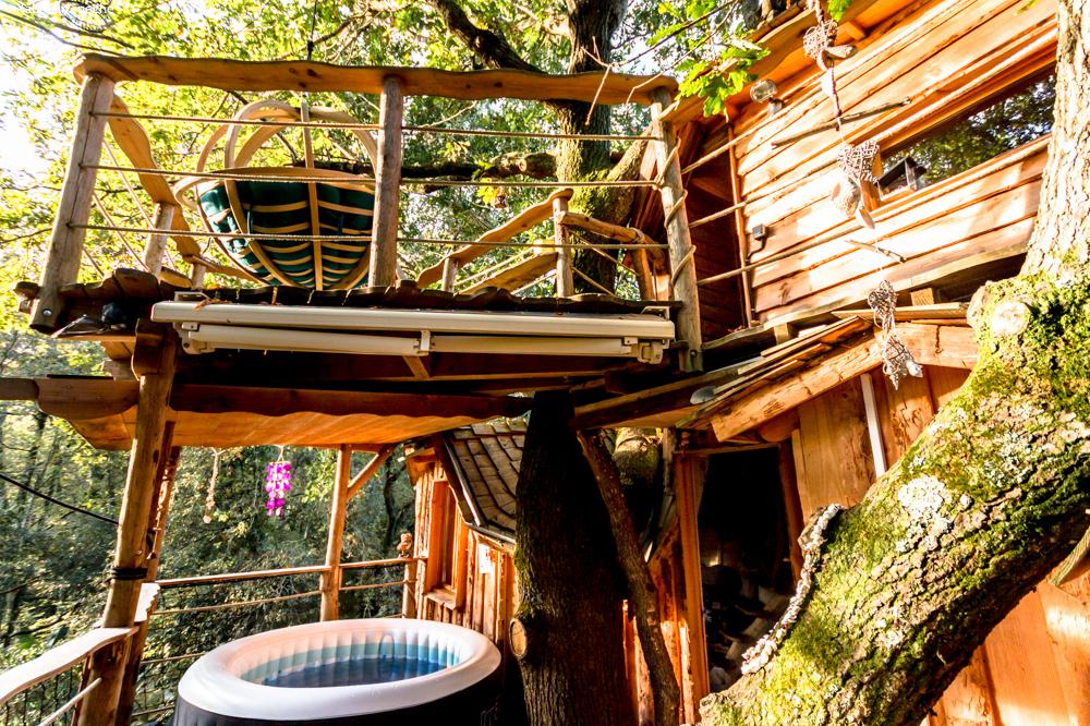 Cabane dans les bois tarnos
