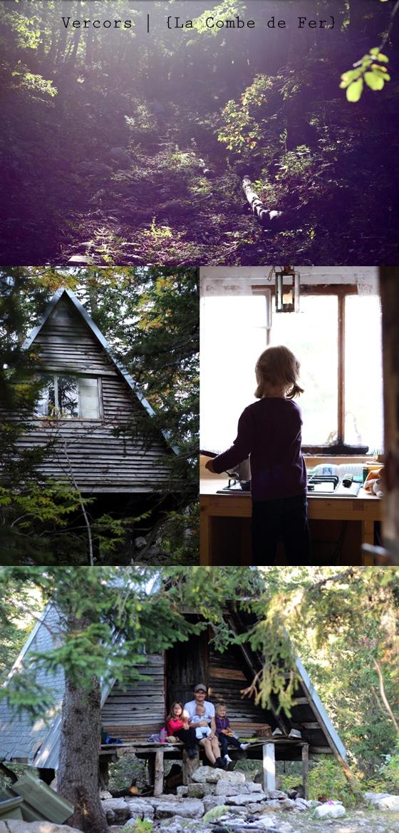 Cabane dans les bois vercors