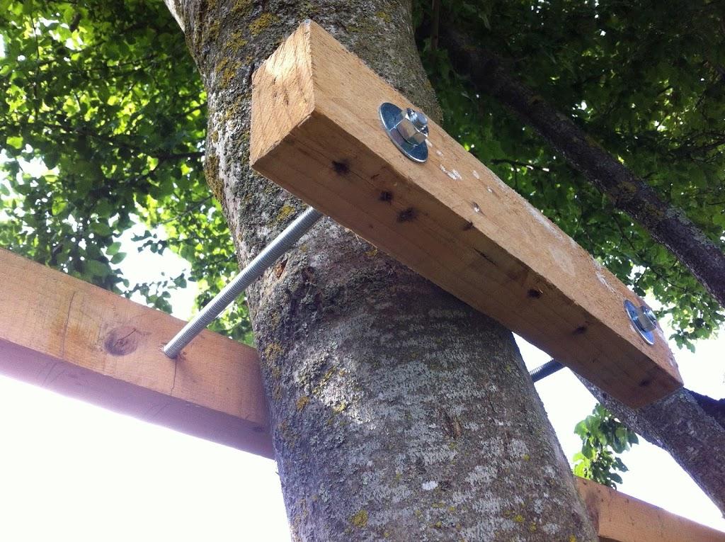 Cabane arbre diy