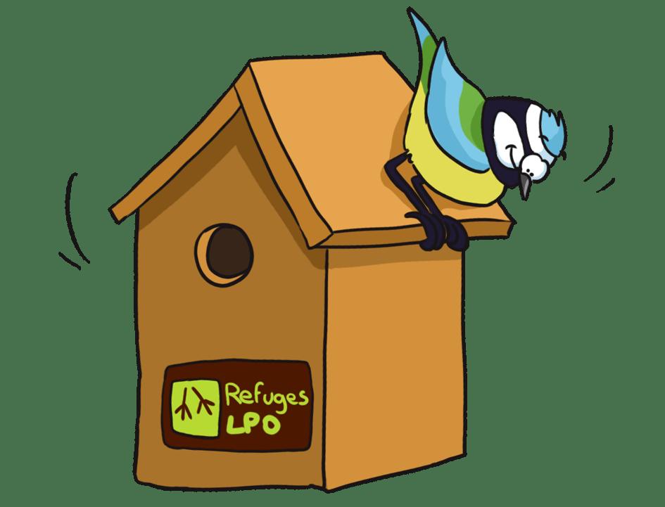 Livre cabane a oiseaux