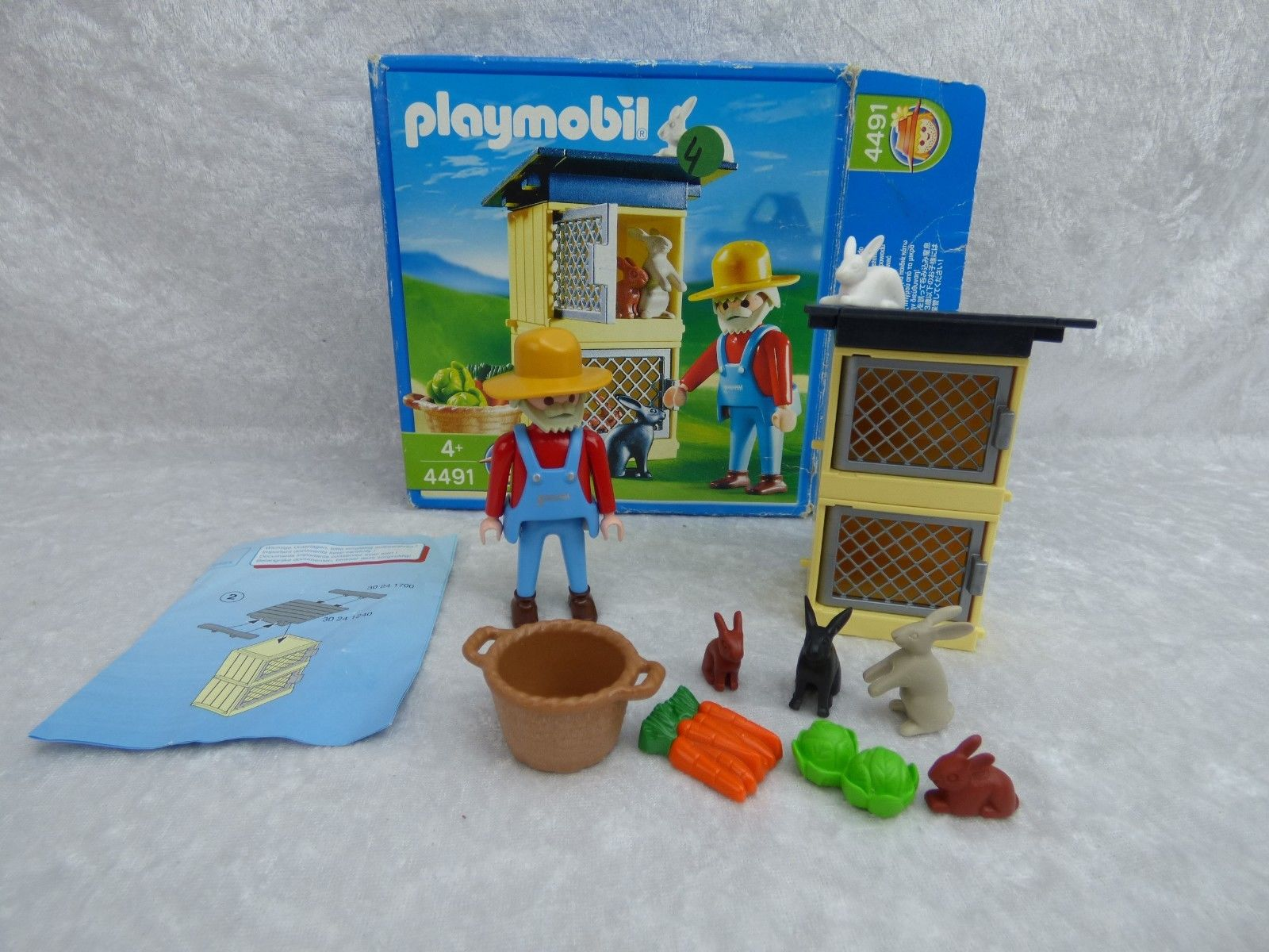 Cage a lapin playmobil