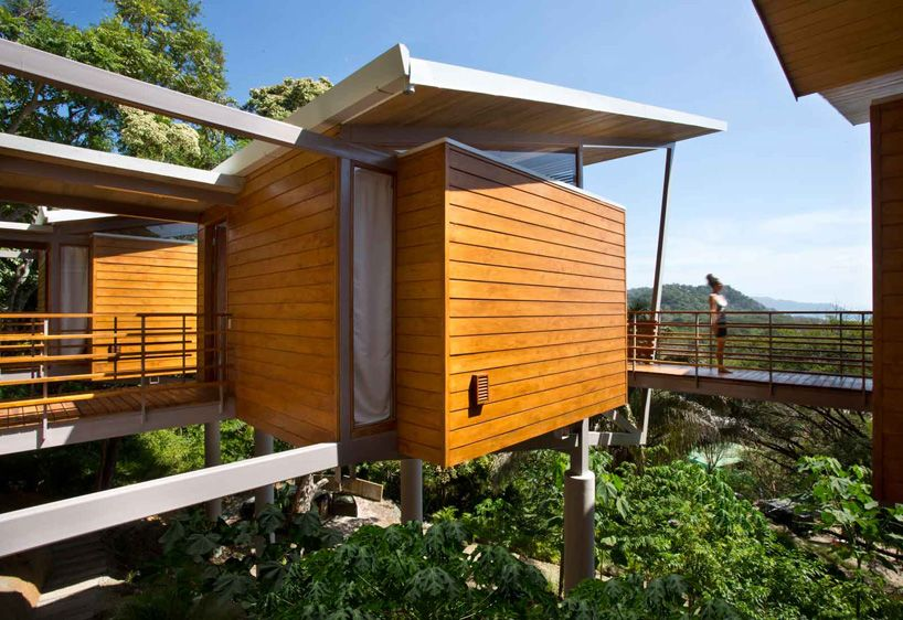 Cabane dans les bois de luxe