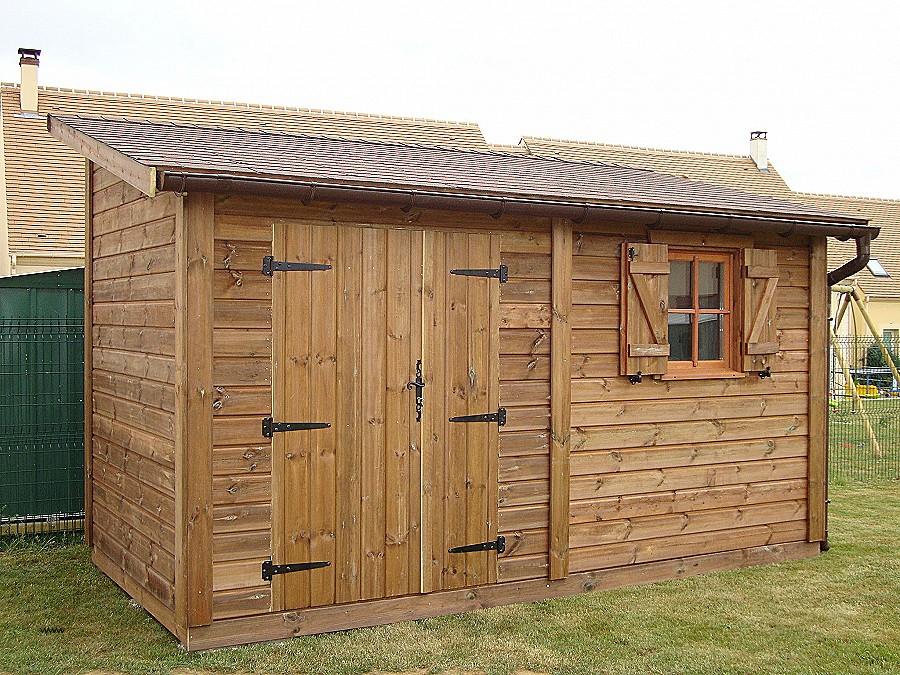 Cabane de jardin en bois - Mailleraye.fr jardin