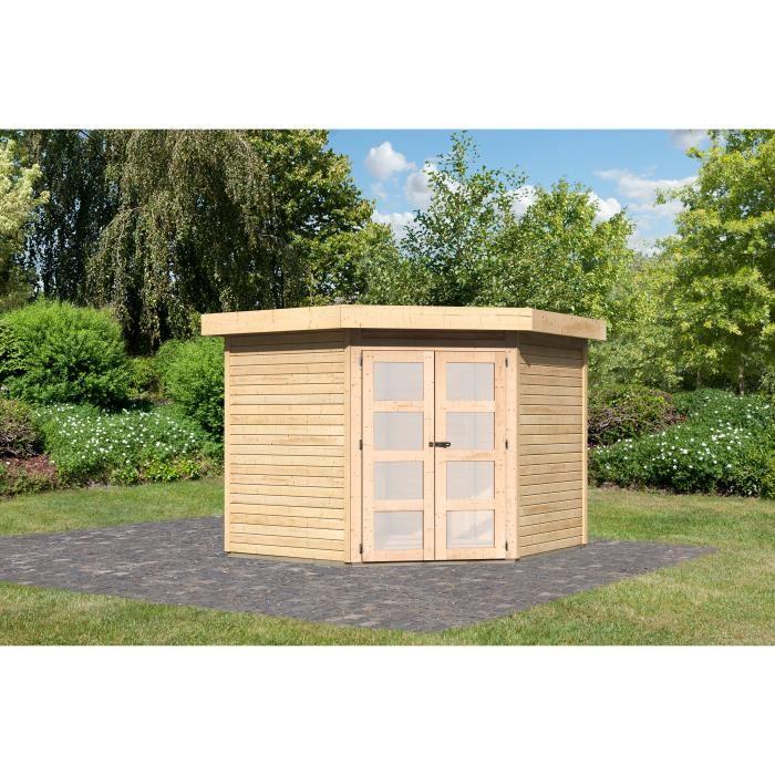 Cabane de jardin angle