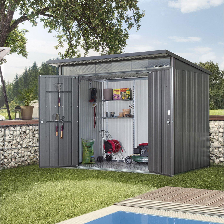 Cabane de jardin aluminium