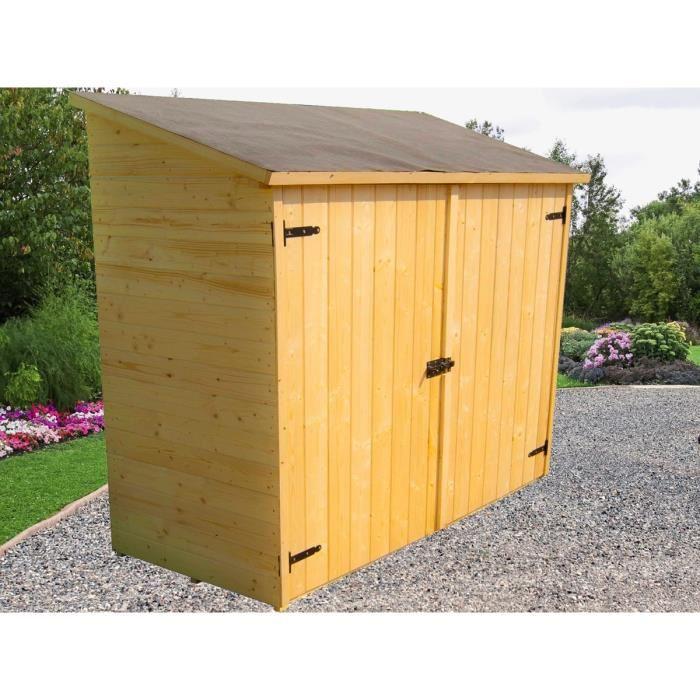 Cabane de jardin pas cher bois